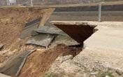 Kênh hơn 4 nghìn tỷ ở Thanh Hóa bất ngỡ đứt gãy khi bơm nước tưới tiêu