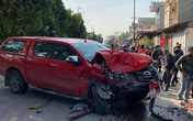 Tài xế xe bán tải có nồng độ cồn gây tai nạn liên hoàn khiến 4 người thương vong ở Phú Thọ