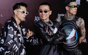 """Dàn huấn luyện viên Rap Việt """"quậy"""" tung thảm đỏ Tuần lễ thời trang quốc tế 2020"""