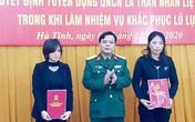 Tuyển dụng, trao quân hàm quân nhân chuyên nghiệp cho thân nhân các liệt sỹ Rào Trăng 3 và Đoàn 337