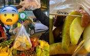 """Du khách Sài Gòn bị """"chặt chém"""" túi hoa quả rong 200 nghìn đồng ở Hà Nội"""