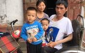 Chồng bị liệt hai chân, vợ bệnh thần kinh, nuôi hai con nhỏ bị bại não