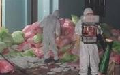Hà Nội: Kinh hoàng kho tập kết 620kg khẩu trang đã qua sử dụng