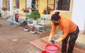 Học sinh ở Hà Tĩnh đi học trở lại sau dịch COVID-19