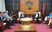 Thứ trưởng Bộ Y tế tiếp Đại sứ Hàn Quốc, cùng chia sẻ kinh nghiệm phòng chống COVID-19