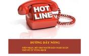 Hà Tĩnh: Công bố đường dây nóng tiếp nhận, hỗ trợ người dân trở về từ vùng dịch