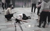 Hải Phòng: Một thanh niên bị chém gục trên phố đi bộ Tam Bạc