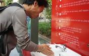 Trải nghiệm trạm rửa tay dã chiến phòng COVID-19 tại Hà Nội