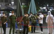 An ninh thắt chặt tại Bệnh viện Bạch Mai trước giờ gỡ bỏ lệnh phong tỏa