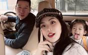 Á hậu Diễm Trang sợ con gái ảnh hưởng tâm lý vì mắc kẹt ở Ba Lan