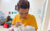 """Nhận thay y tá chăm sóc bà xã mới sinh, anh chồng quốc dân khiến hội chị em ấm lòng khi quan niệm: """"Yêu vợ thương con là làm được hết"""""""