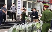 """""""Chia lửa"""" tại chung cư HH01B - KĐT Thanh Hà, nơi phát hiện 2 vợ chồng nhiễm COVID-19"""