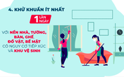 VIDEO: Hướng dẫn vệ sinh khử khuẩn tại gia đình
