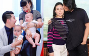"""Quách Ngọc Ngoan, Trương Nam Thành: Trai trẻ mang tiếng làm """"phi công"""" và cuộc sống chiều vợ thương con riêng"""