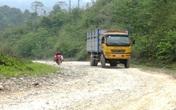 Thanh Hóa: Dân vùng biên kêu cứu vì đường tỉnh lộ bị cày nát