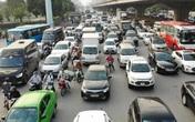 Nhiều tuyến đường tại Hà Nội ùn tắc trước dịp lễ 30/4