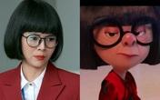 Diễm Hương lấy cảm hứng từ nhân vật hoạt hình