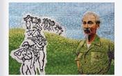 130 năm ngày sinh Bác Hồ: Kỳ công món quà 'ngoại giao', bí mật trong tranh ghép Bác Hồ