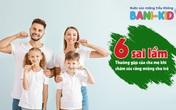 6 sai lầm thường gặp của cha mẹ khi chăm sóc răng miệng cho trẻ