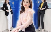 """Học BTV Mai Ngọc cách phối đồ """"đỉnh cao"""" chỉ với 1 kiểu quần vô cùng đơn giản"""