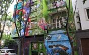 Tác phẩm tranh tường Graffiti với chủ đề phòng chống dịch COVID-19 cực kỳ ấn tượng và độc đáo