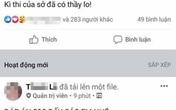 Thầy giáo hot Facebook cho học sinh chép đáp án khảo sát Toán có vi phạm pháp luật?