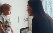 Choáng với khoảnh khắc Phi Nhung dạy dỗ con nuôi 1 tuổi