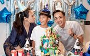 Đàm Thu Trang tổ chức sinh nhật cho Subeo