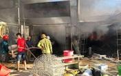 Nghệ An: Cháy ở chợ khiến hàng trăm tiểu thương hoảng loạn