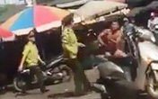 Nghệ An: Xôn xao clip bảo vệ chợ Vinh xô xát với một nam thanh niên