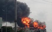 Công an quận Long Biên nói gì về vụ cháy kho hóa chất rộng gần 1.000 m2 tại Thủ đô?