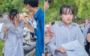 Hình ảnh giọt nước mắt mùa thi trông đến tội, nhưng lời động viên cho nữ sinh mới chiếm spotlight