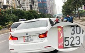 Nhiều xe ô tô dán bản đồ Việt Nam thiếu Hoàng Sa, Trường Sa vô tư lưu thông trên phố
