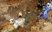 Lần thứ 2 trong tháng 7, đường ống nước sạch sông Đà gặp sự cố