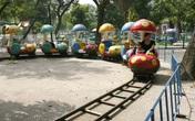 Hà Nội: Cận cảnh những hạng mục trò chơi cũ kỹ, xuống cấp trầm trọng trong Công viên Thống Nhất