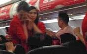 Nữ hành khách ném điện thoại vào tiếp viên hàng không bị cấm bay