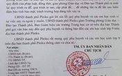 Chủ tịch TP Pleiku xin lỗi phụ huynh vụ lộ đề thi văn lớp 9