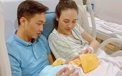 Đàm Thu Trang lộ diện sau sinh con gái