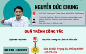 """[Infographic] - Con đường từ """"lính trọng án"""" đến chức Chủ tịch Hà Nội của ông Nguyễn Đức Chung"""