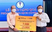 """""""Bầu Hiển"""" tiếp tục ủng hộ hàng ngàn kit xét nghiệm tiếp sức cho Quảng Nam chống dịch"""