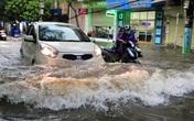 Hải Phòng: Nhiều tuyến phố ngập lụt sau bão số 2