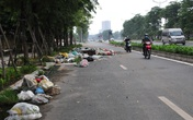 """Cận cảnh con đường nghìn tỷ Nguyễn Xiển - Xa La """"ngập"""" trong rác"""