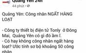 """Đăng thông tin không đúng sự thật, quản trị trang """"Quảng Yên 24h"""" bị phạt 7,5 triệu đồng"""