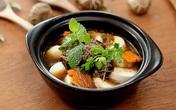 Đậu hũ non om nấm hương, món ăn chay tuyệt đỉnh cho ngày lễ Vu Lan