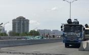 Hà Nội: Cận cảnh đại công trường dự án gần 300 tỷ tu sửa mặt cầu Thăng Long