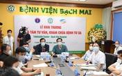 Bác sĩ ở viện lớn nhất nước trực tuyến khám chữa bệnh từ xa cho người dân cách 400-500km