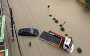 Mưa lớn ở Điện Biên gây ngập lụt thành phố, nhiều tuyến đường sạt lở nghiêm trọng