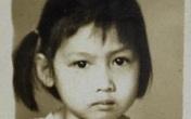 Ảnh thời thơ ấu của diễn viên Hiền Mai