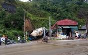 Hà Giang: Đất đá đổ ập xuống nhà dân khiến 1 học sinh tử vong