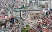 Hà Nội: Mục sở thị đường trên cao đoạn Ngã Tư Vọng - Cầu Vĩnh Tuy dần hình thành
